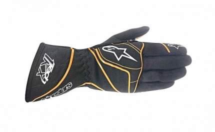 Перчатки (картинг) TECH-KX, черный/флюор.оранж., р-р XXL Alpinestars 3551815_156_XXL