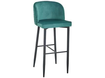 Барный стул MC11B HLR-56 Изумрудный, велюр