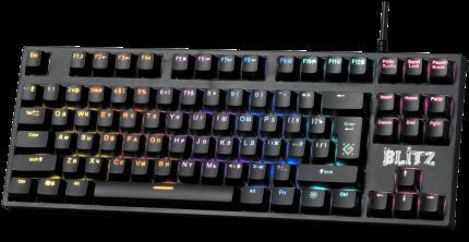 Игровая клавиатура Defender Blitz GK-240L Black