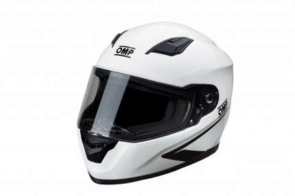 Шлем для картинга закрытый Circuit EVO, белый, ECE 22,05, р-р XS OMP Racing SC613020XS