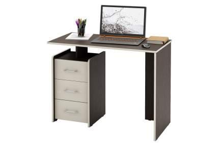 Компьютерный стол MFMaster Слим-1 Слим-1 прямой , венге/дуб молочный