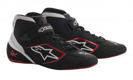 Ботинки для картинга TECH 1-K, чёрный/белый/красный, 44 (11) Alpinestars 2712018_123_11