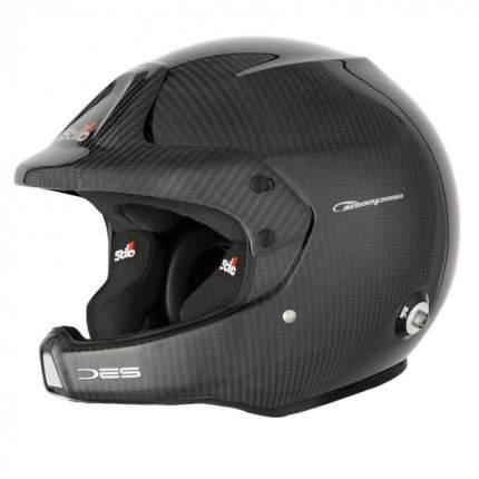 Шлем открытый WRC DES CARBON PIUMA,ралли,интерком,HANS,FIA,карбон,57 Stilo AA0210BG1M57