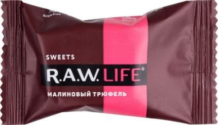 Конфета Raw Life малиновый трюфель