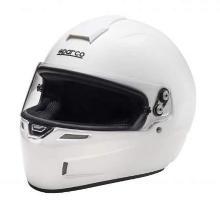 Шлем для картинга GP KF-4W, CMR 2016, карбон-кевлар, белый, M (57-58см) Sparco 0033582M