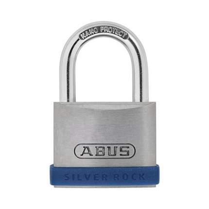 Навесной замок ABUS Silver Rock 5/40 c силиконовым бампером