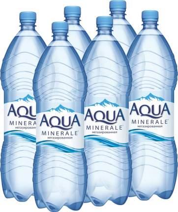 Вода Aqua Minerale негазированная питьевая 2 л упаковка 6 шт