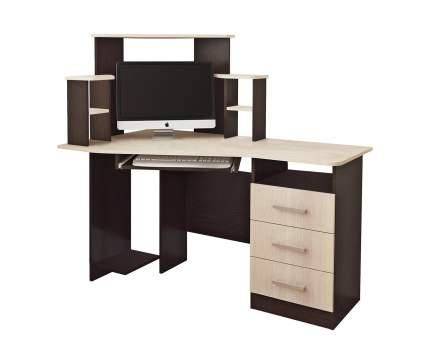 Компьютерный стол BTS Каспер Венге / Лоредо, венге/лоредо