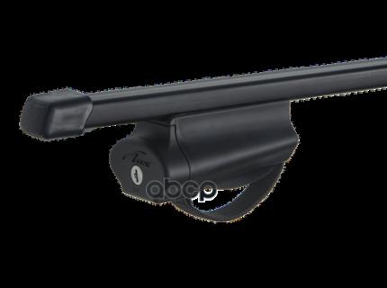 Багажник на рейлинги lux бэлт с дугами 1,2м  для а/м с рейлингами 844024
