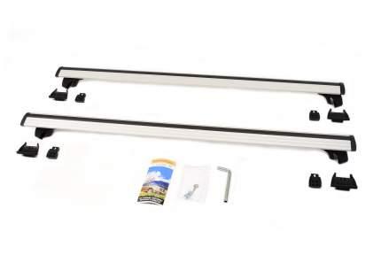 Багажник на рейлинги lux классик с дугами 1,2м аэро-трэвэл 82мм 846189