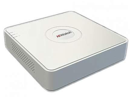 Видеорегистратор Hiwatch DS-N204P(B) 4кн, 4 PoE, 250м, 10мб/с