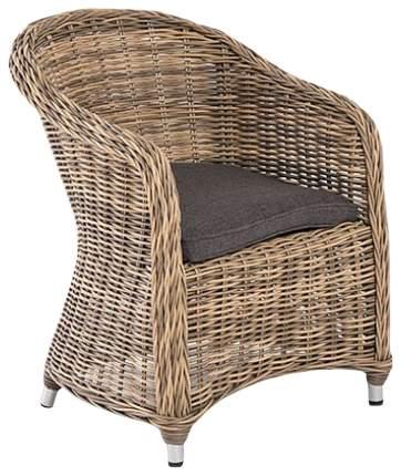 Садовое кресло 4sis Равенна SIS_UT-00000305 brown 68х57х81 см