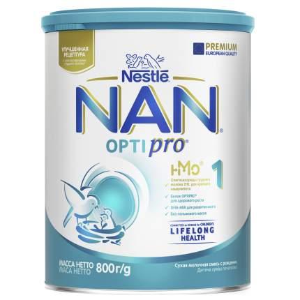 Молочная смесь NAN Optipro 1 от 0 до 6 мес. 800 г