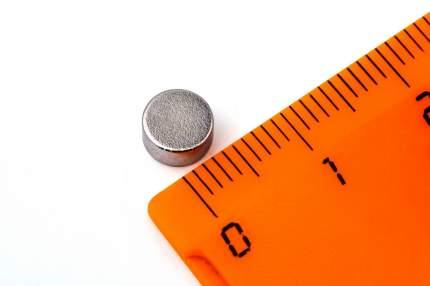 Неодимовый магнит диск 6х3 мм, 120шт, Forceberg