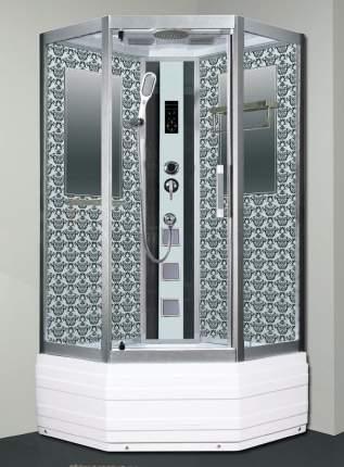 Душевая кабина Niagara Lux 7798W серебро 100х100 см