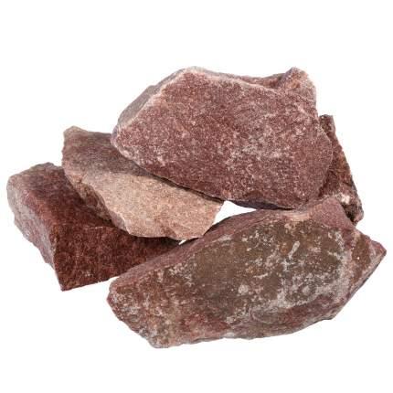 Камень малиновый колотый Банные штучки Кварцит 20 кг