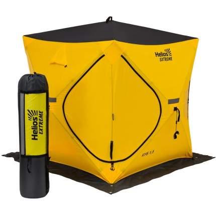 Палатка зимняя Куб EXTREME  1,5 х 1,5 V2.0 (широкий вход)