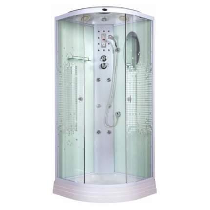 Душевая кабина Niagara NG-3012-01 115х115 см с мозаичными стеклами