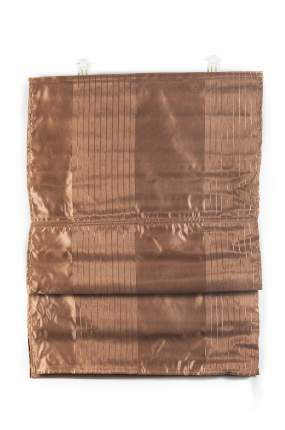 "Римские шторы ""Глория"", ПраймДекор, шоколад, 100х160"