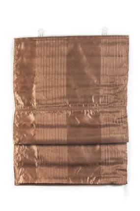 "Римские шторы ""Глория"", ПраймДекор, шоколад, 120х160"