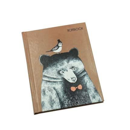 Книга для записей Listoff Миша и компания А6 48л КЗ6483168
