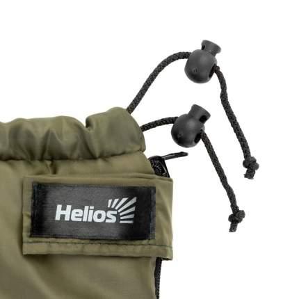 Спальный мешок Helios Батыр XXL СОШ-3 олива, левый