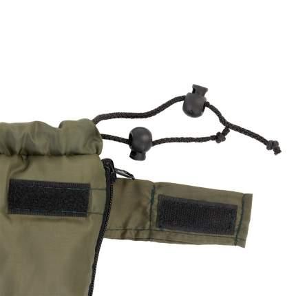 Спальный мешок БАТЫР СО-2 (185*75) зелёный (холлофайбер)