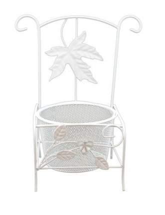 Металлический стул-кашпо, 11,5x10,5x21,5 см