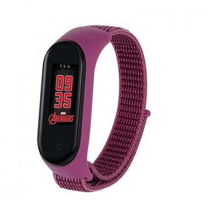 Сменный браслет Xiaomi Mi Band 5/Mi Band 4/Mi Band 3 neylon Purple