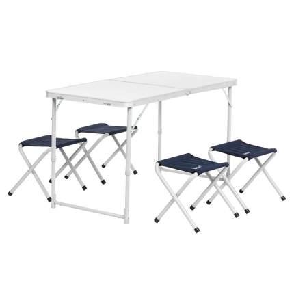 Туристический стол со стульями Helios 21407+21124 135144 серый