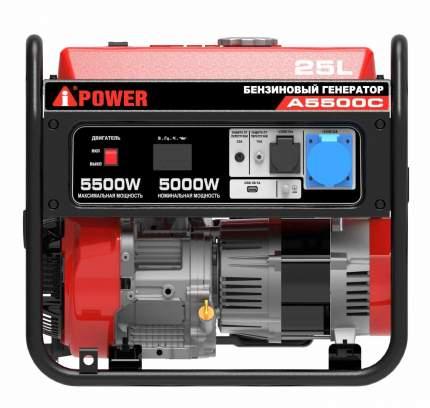 Бензиновый генератор 5 кВт A-iPower A5500C