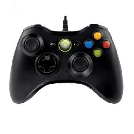 Геймпад проводной X360 Controller (no original) для PC Xbox 360 Black