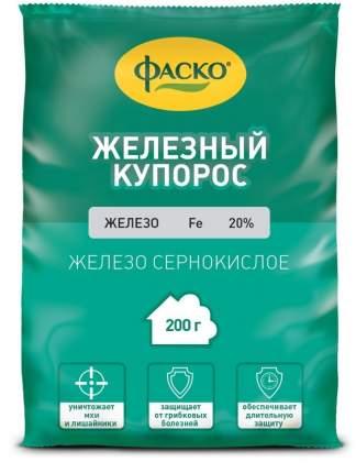 Средство для защиты от антракноза монилиоза Фаско Купорос железный Сз0300ФАС02 200 г