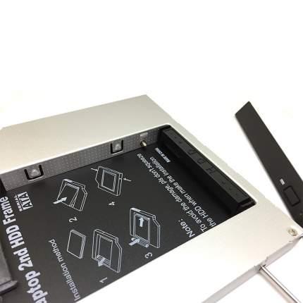 Адаптер Espada IS12 mIDE/SATA 12,7мм