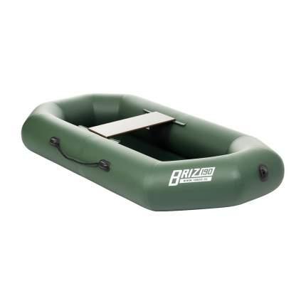 Лодка Тонар Бриз 130913 1,9 x 0,96 м зеленая
