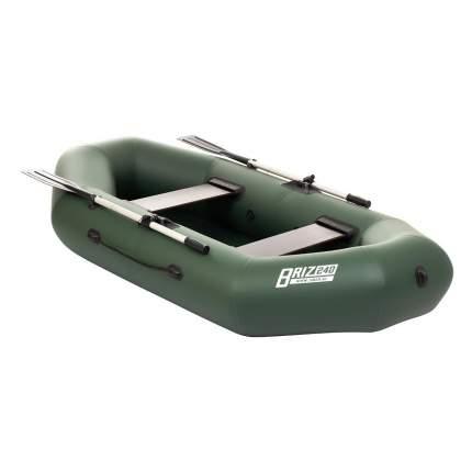 Лодка Тонар Бриз 2,4 x 1,23 м зеленая