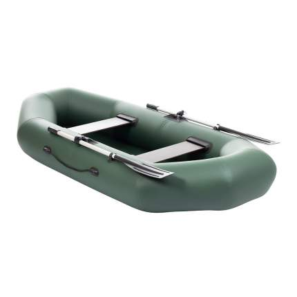 Лодка Тонар Бриз 130953 2,6 x 1,23 м зеленая