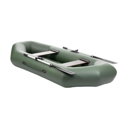 Лодка Тонар Бриз 162059 2,6 x 1,23 м зеленая