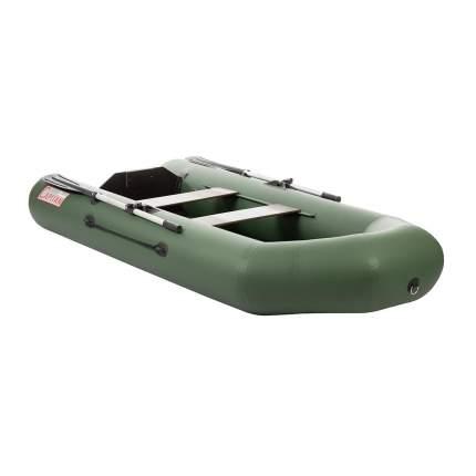 Лодка Тонар Капитан 130955 2,8 x 1,23 м зеленая