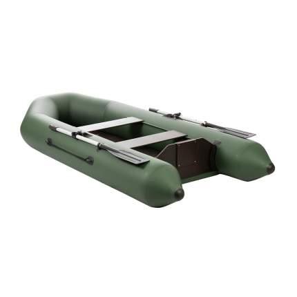 Лодка Тонар Капитан 130956 2,8 x 1,23 м зеленая