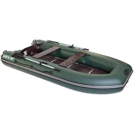 Лодка Тонар Капитан 3,05 x 1,48 м зеленая