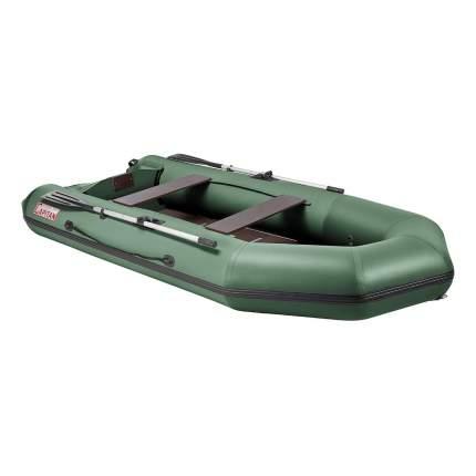 Лодка Тонар Капитан 130943 3,3 x 1,45 м зеленая