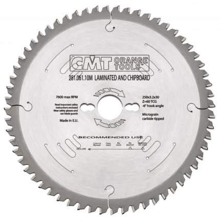 Пильный диск CMT Ф160х20мм 56зуб. (281.161.56H)