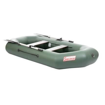 Лодка Тонар Шкипер 130945 2,6 x 1,23 м зеленая