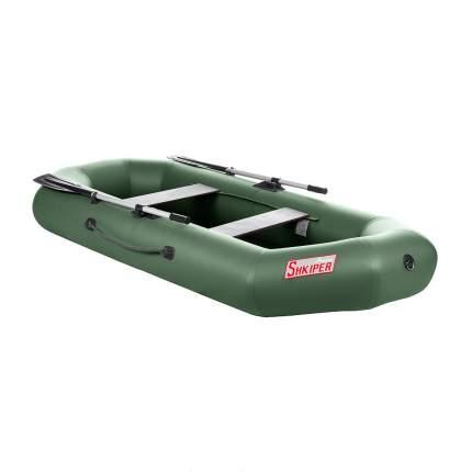 Лодка Тонар Шкипер 130947 2,8 x 1,23 м зеленая
