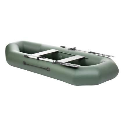 Лодка Тонар Шкипер 130950 2,8 x 1,23 м зеленая