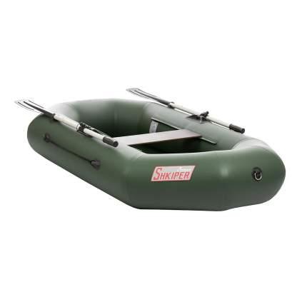 Лодка Тонар Шкипер 2,2 x 1,23 м зеленая