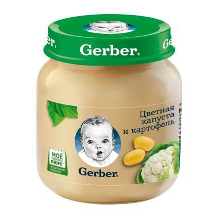 Пюре овощное Gerber Цветная капуста и картофель с 5 мес. 130 г