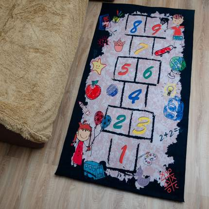 Детский ковер Играем в классики, 100х200