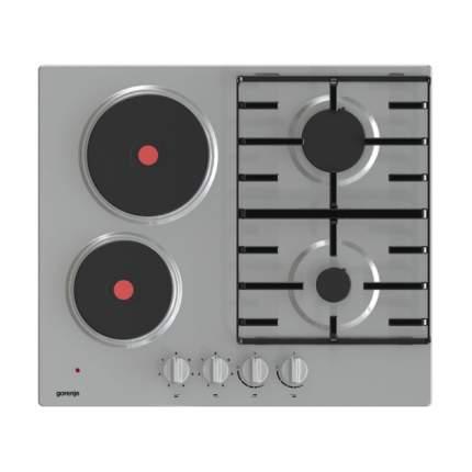 Встраиваемая комбинированная панель Gorenje GE690X Silver